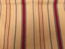 """Chaps Ralph Lauren one Flat Sheet Casablanca Marrakesh Striped 90"""" X 91"""""""