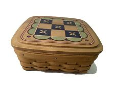 Longaberger 2005 Father's Day Basket Tic Tac Toe & Peg Solitaire Games