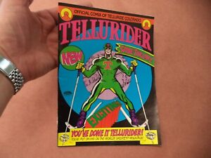 Rare 1972 Tellurider Comic Book of Telluride Colorado Ski Resort 8/10
