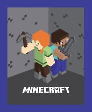 Minecraft characters Panel 66763 100% cotton fabric panel