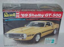 1969 Ford Shelby GT-500 Revell 7161 1/25 Sealed Box Skill 2