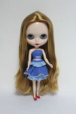 """12"""" Neo Blythe Takara doll from factory light Brown middle hair S843 Xmas gift"""