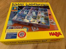 Schloss Schlotterstein Haba 4219 Magnetspiel Spielesammlung unbenutzt Rarität