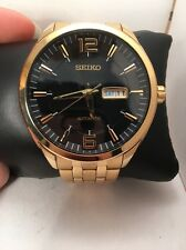 Seiko Men's SNKN48 RECRAFT Analog Display Japanese Automatic Gold Watch-H71