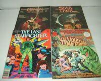 4 MARVEL SUPER SPECIAL MOVIE COMIC MAGAZINE LOT CONAN STAR TREK LAST STARFIGHTER