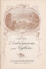 La petite illustration Théâtre L'embarquement pour Cythère par Emile Veyrin 1904
