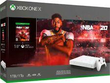 Новый Microsoft Xbox One X 1 Тб NBA 2K20 специальное издание игровой комплект приставки домой