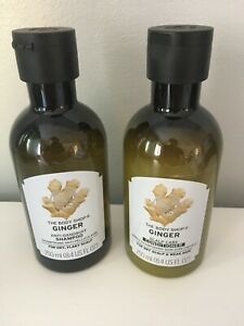Ginger shampoo & conditioner purchased from Body Shop