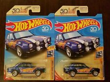 Hot Wheels 2018 Super Treasure Hunt '70 Ford Escort RS1600 *PAINT VARIATION (2x)