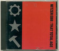 NITZER EBB That Total Age; 1987 CD Mute Records; CD STUMM 45