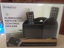 Berkshire Rubberized Remote Control Holder - Black