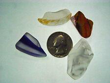 Assorted Surf Tumbled Sea Glass Lot 2059