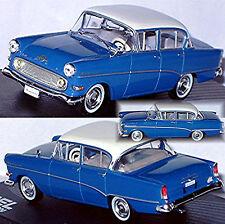 Opel Rekord P1 Limousine 1957-60 blau blue 1:43
