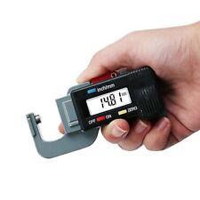 0-12.7MM Portable Digital Thickness Gauge Meter Tester Caliper Tool Micrometer