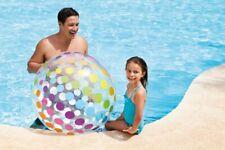 INTEX Jumbo Wasserball Strandball Luftball Aufblasbarer Ball Badespaß 107 cm