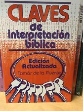 Claves de Interpretacion Biblica by Thomas Fountain (1972, Paperback, Reprint)