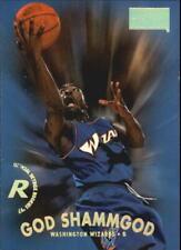 1997-98 SkyBox Premium Wizards Basketball Card #218 God Shammgod Rookie