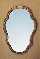 Miroir en bois doré de style Louis XV - sobre et en excellent état