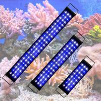 25-85cm Aquarium LED Lighting Full Spectrum Marine Fish Tank Light Over-Head UK