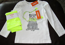 Gymboree Cozy Ski Lodge bear in scarf sparkle rhinestone top & leggings NWT 5