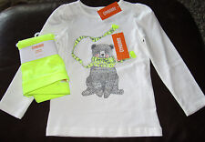 Gymboree Cozy Ski Lodge bear in scarf rhinestone top & leggings NWT 10 SCHOOL