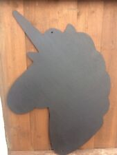 Children's Outdoor Unicorn Chalkboard Garden Handmade  School Nursery