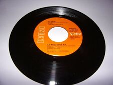 """45"""" Nilsson: As Time Goes By / Lullaby In Ragtime / VG+ / 1973 /"""