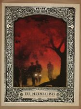The Decemberists 2007 Milwaukee Screen Printed Poster