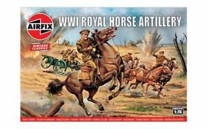 WWI ROYAL HORSE ARTILLERY - AIRFIX - 1/76 SCALE - VINTAGE SERIES