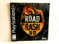 Road rash 3D PS1 MANUAL ONLY Authentic Playstation