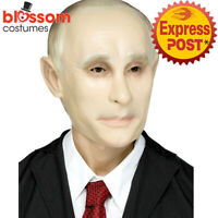 AC280 Vladimir Putin Political Costume Russia President World Leader Mask Face