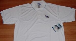 Tennessee Titans Polo Shirt XL Reebok Authentic NFL Embroidered Logos