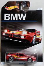HOT WHEELS 2015 BMW M1 DIE CAST CAR MATTEL EUROPA MOSC SEALED 1/8