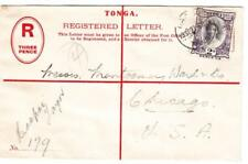 Tonga REGISTERED POSTAL ENVELOPE-HG:C20-uprated SG#57d-HAAPAI TONGA