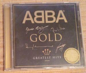 ABBA: GOLD, GREATEST HITS RARE SIGNATURE EDITION CD ALBUM THE SINGLES
