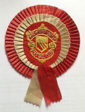 Manchester United Vintage Rosette