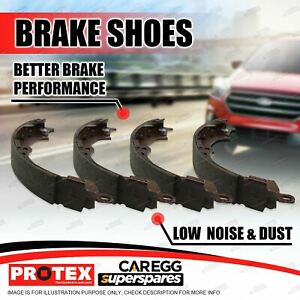 Protex Rear Brake Shoes Set for Holden Rodeo TF Series 4x2 4x4 1988-2002
