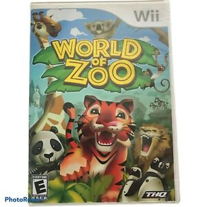World of Zoo (Nintendo Wii, 2009) Game COMPLETE