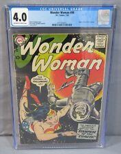 WONDER WOMAN #99 (Origin of Diana Prince identity) CGC 4.0 VG DC Comics