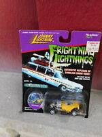 1997 MIP JOHNNY LIGHTNING DIE CAST TOY CAR - GHOSTBUSTERS MYSTERION (S7)
