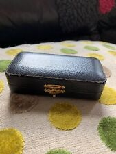 Old Antique Jewellery Box Leather Case