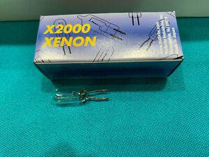 10 Pack of 10 Watt T3 G4 Base 12 Volt 10000 Hour Clear Xenon Lightbulbs