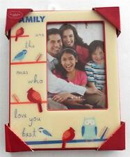 St. Nicholas Square FAMILY Are The Ones Who Love You Best  HOLIDAY PICTURE FRAME