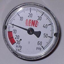 VACUUM GAUGE 32123 CLEAN BURN FURNACE PART ALL BRANDS WASTE OIL HEATERS