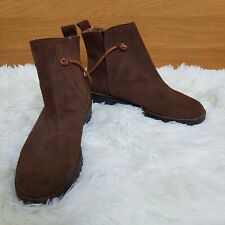 **Timberland Suede Leather Ankle Chelsea Boots Tan Brown Womens Girl UK 4 EUR 37