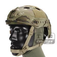 Emerson Tactical Fast Helmet PJ Type Advanced Adjustment w/NVG Shroud+Side Rail