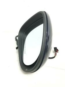 2011 2012 2013 2014 VOLKSWAGEN TOUAREG RIGHT DOOR MIRROR W/O HEAT NIGHT BLUE OEM