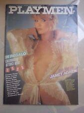 RIVISTA PLAYMEN JANET AGREN HOT HARD SEX