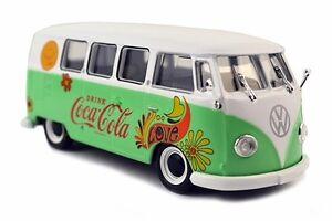 Atlas O 820058 1959 Volkswagen Kombi T1 Samba Bus, Coca-Cola (Fiore Versione Con