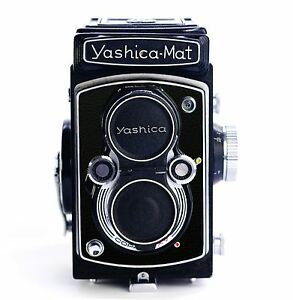 Yashica Mat Replacement Cover - Laser Cut Recycled Leather - Moroccan